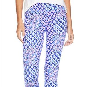"""Lilly Pulitzer 21"""" High Rise Luxletic Leggings"""